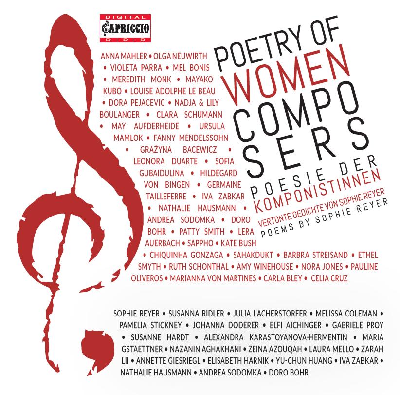 """Doppel-CD """"Poesie der Komponistinnen"""""""